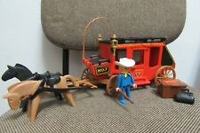 Playmobil - Western Oeste - Diligencia con Caballos Vehiculo - 7428 - (COMPLETO)