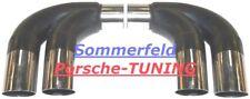 Porsche Carrera 997 + S MK1 Cuprohr Sportauspuff Sport exhaust bypass pipe