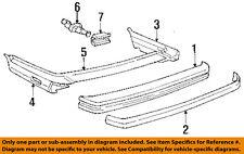 BMW OEM 86-88 325 Rear Bumper-Bumper Trim-Filler Panel 51121937390