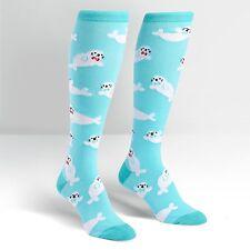 Sock It To Me Women's Knee High Socks - Baby Seals