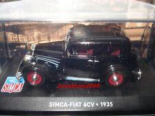 SIMCA FIAT 6CV NOIRE 1935 au 1/43 °
