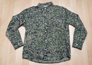 CARHARTT FULLER SHIRT JACKET S Hemd Jacke Camo Stain schwarz cypress beige