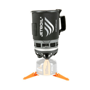 Jetboil Zip Stove Black Carbon Lightweight Compact Camping Cooking System