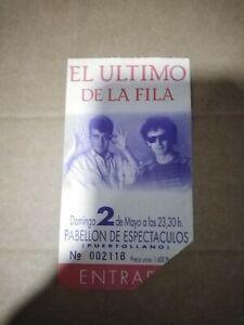 EL ULTIMO DE LA FILA DOMINGO DOMINGO 2 MAYO PUERTOLLANO - ENTRADA TICKET