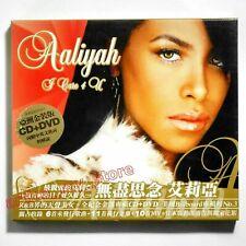 Aaliyah I Care 4 U Taiwan Cd Dvd Box Bonus Track 10 Music Video Best Hits 2003