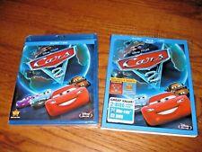 Cars 2 Disney:Brad Lewis,Owen Wilson (Blu-ray/DVD,2011,2-Disc Set) NEW,Slipcover
