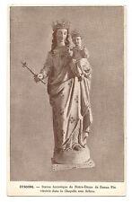 cysoing,statue historique de notre-dame de bonne fin