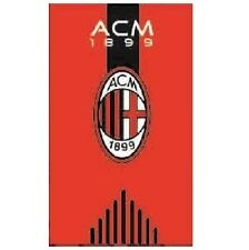 Original AC Mailand Milan Teppich/Abtreter/Bettvorleger/Badematte/Matte 80x50 cm