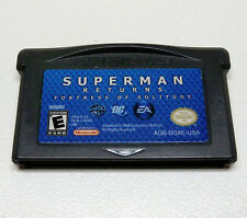 Superman Returns: Fortress of Solitude (Nintendo Game Boy Advance) Works Great