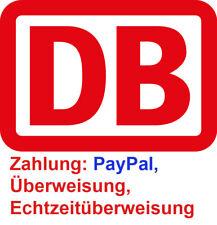 Paypal: DB Deutsche Bahn Freifahrt Freiticket deutschlandweit IC ICE EC flexibel