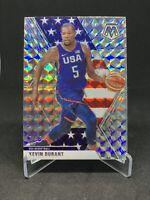 2019-20 Panini Mosaic Kevin Durant Silver Wave Prizm USA Basketball #251