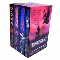 Divergent And Insurgent By Veronica Roth 4 Books Collection Set