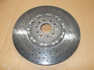 2012 FERRARI 458 SPIDER (TYPE F142) FRONT RIGHT CARBON CERAMIC BRAKE DISC 274234