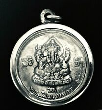 Thai Amulet Lord Ganesha -พระพิฆเนศ-  Elephant Pendant BEAUTIFUL
