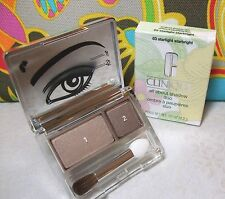Clinique Starlight Starbright All About Shadow Duo Full Size in Retail Box NEW!!