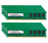 Hynix 2GB 4GB 8GB PC2-6400U DDR2 800MHz 240PIN 2RX8 DIMM Desktop RAM memory Lot