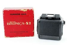 Mint in Box 🌟 Zenza Bronica Black 6x6 Roll Film Back Holder for S2 S2A f Japan