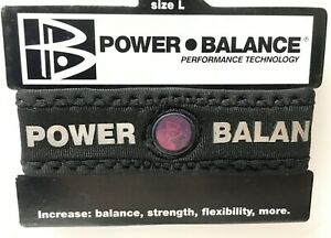 The Power Balance Strength Stability Bracelet Energy Healing Health - Large