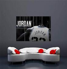 MICHAEL JORDAN NBA BASKETBALL 23 BULLS NEW GIANT WALL ART PRINT POSTER OZ330