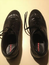 Prada Mens Shoes - Calzature Nero - US 11 - Worn Twice (Genuine With Recipt)