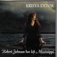 Krista Detor-Robert johnson Has Left Missisipi cd single