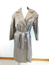 BRITTISH MIST WOMENS KHAKI RAIN COAT SIZE 7 - 8 SUPER CUTE!