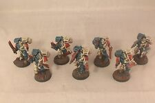 Warhammer Space Marine Assault Squad Marines Well Painted