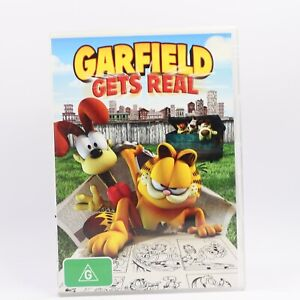 Garfield Gets Real (DVD, 2007) R4 Movie Good Condition Free Tracked Post