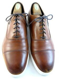 "Allen Edmonds ""PARK AVENUE"" Leather Oxford Dress Sneakers 10 E Chili(590)"