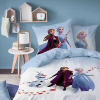 Biber Bettwäsche Frozen 2 Anna Elsa Flanell 80x80 cm 135x200 cm