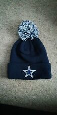 Dallas cowboys bobble beanie hat