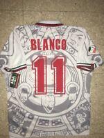MEXICO AWAY  1998  Cuauhtemoc Blanco  WC 98, SIZE L, AUTHENTIC SHIRT ABA SPORT