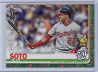 2019 Topps Holiday JUAN SOTO Rookie Cup Metallic Silver - Washington Nationals