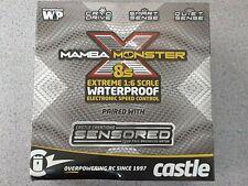 Castle Creations Mamba Monster X 8S ESC/Motor Combo w/1520 Sensored Motor 1650Kv