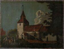 Peintures du XXe siècle et contemporaines compositions mixtes paysage