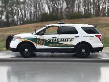 Washington County Tennessee custom sheriff's diecast SUV Motormax 1:24 scale