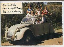 CP Automobile - En vacances - Citroën 2cv
