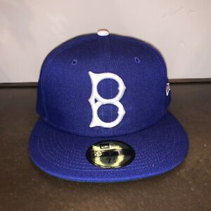New Era 59Fifty Brooklyn Dodgers Hat 7 1/4 NWT Cooperstown Collection MLB