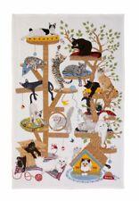Geschirrtuch, Moggie Mayhem Katzen katzenbaum von Ulster Weavers