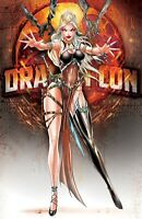 WHITE WIDOW #1 DRAGON CON QUEEN WIDOW METAL COVER SIGNED SET, COA, NM