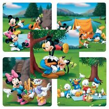 "25 Mickey Mouse Disney Great Outdoors Stickers, 2.5""x2.5"" ea., Party Favors"
