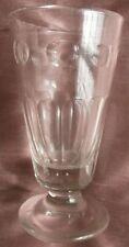 Verre à absinthe en verre soufflé & taillé - Collection Déco Bistrot