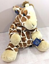 """Giraffe GISELLE large 15"""" beanbag plush by GANZ Heritage Collection w/Tag"""