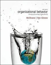 Organizational Behavior : Emerging Knowledge, Global Reality by McShane