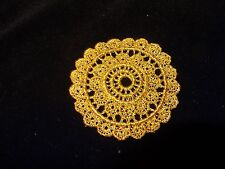 """Gold Medallion Venise Lace - 12 for $12.99 - 2 7/8"""" Wide"""