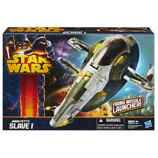 Star Wars A2288 JANGO FETT Slave 1 Vehicle - Class II with Missile Launcher