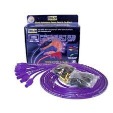 Taylor Spark Plug Wire Set 73155; Spiro Pro 8mm Purple Straight Universal