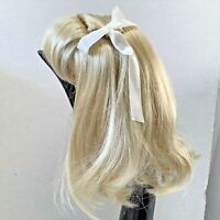 Hand Styled Doll Wig Global Dolls Kerstin 14-15 Light Blonde Hair Thick  NOS