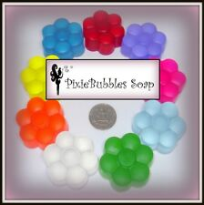 Glycerin Soap PixieBubbles Handmade from Scratch No Detergent Gift Favors .75 oz