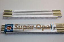 Zollstock mit  SPRUCH  SUPER OPA  Lasergravur 2 Meter Handwerkerqualität